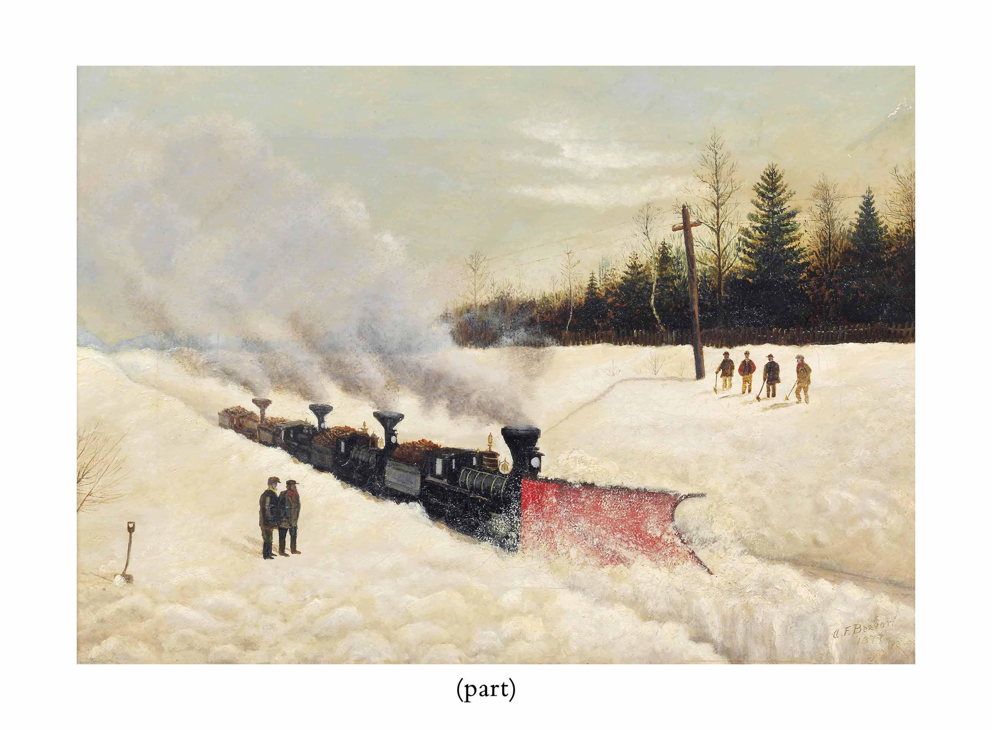 A. F. Beevor (fl.1880s)