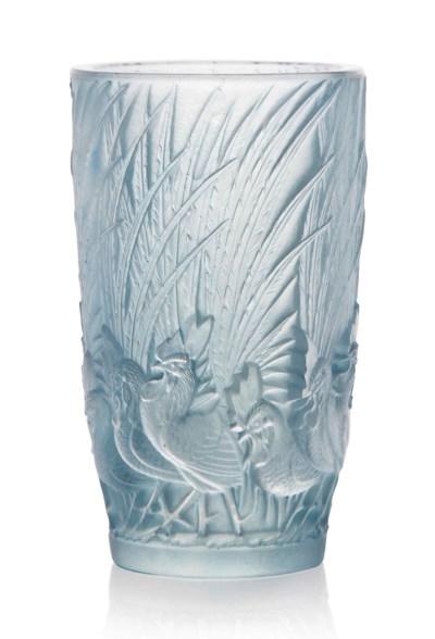 A 'Coqs et Plumes' Vase, No. 1