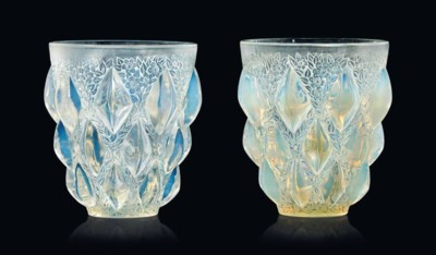 Two 'Rampillon' Vases, No. 991