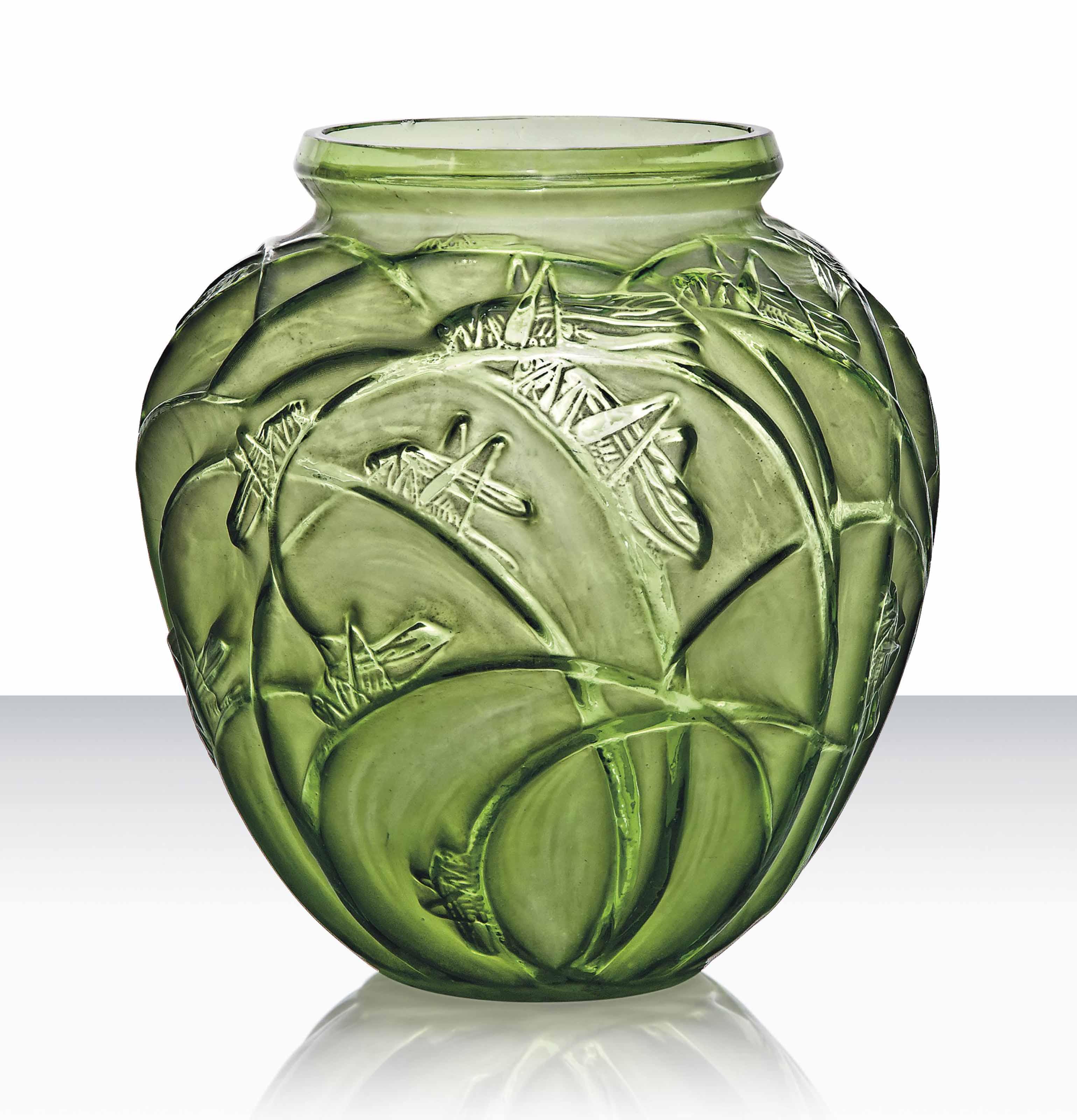 A 'Sauterelles' Vase, No. 888