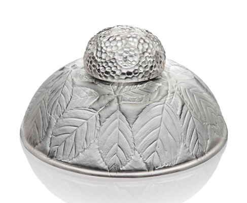 A 'Cernay' Inkwell and Cover,