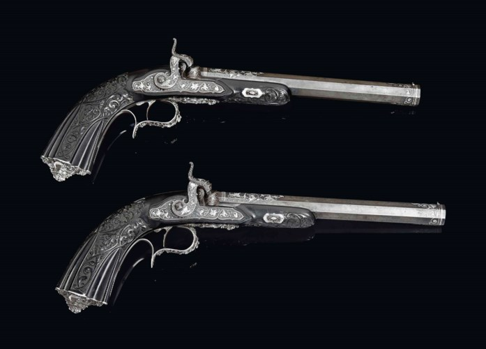 A MAGNIFICENT PAIR OF FRENCH 5