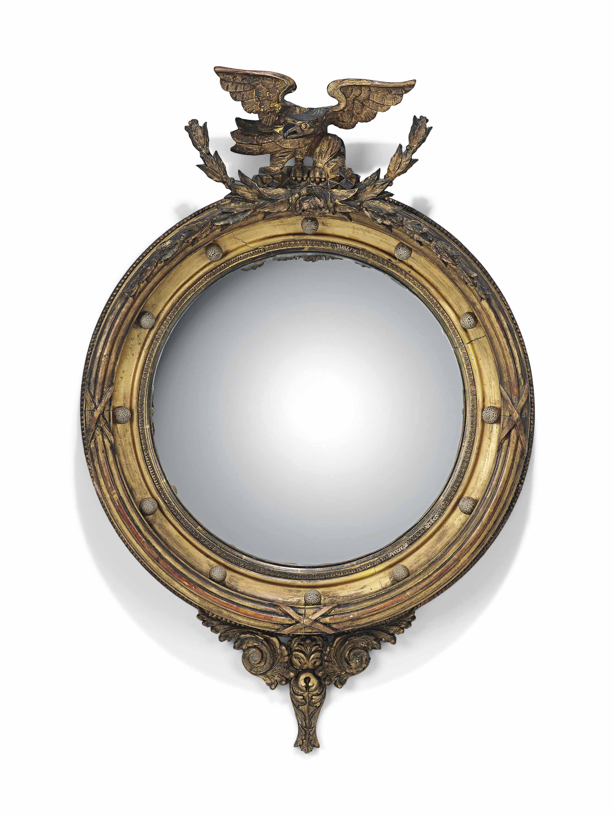 A GEORGE IV GILTWOOD AND GILT-