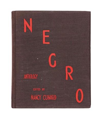 CUNARD, Nancy (editor). Negro.