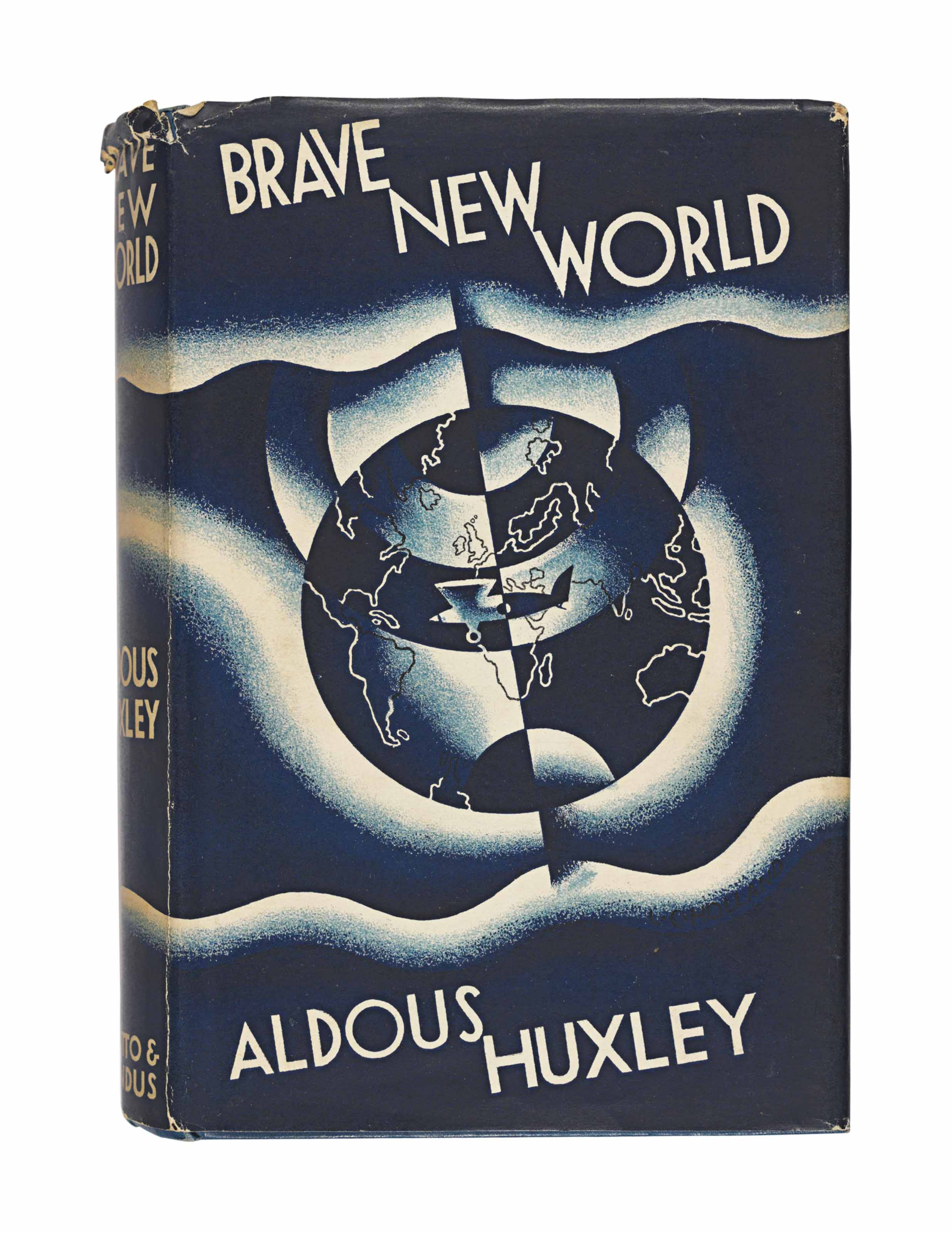 who wrote brave new world