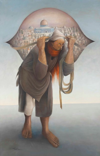 Suleiman Mansour (Palestinian,