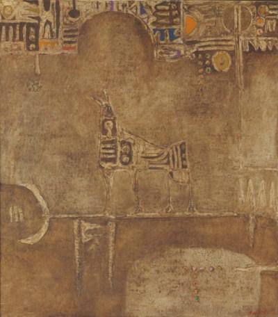 Dia Al-Azzawi (Iraqi, b. 1939)