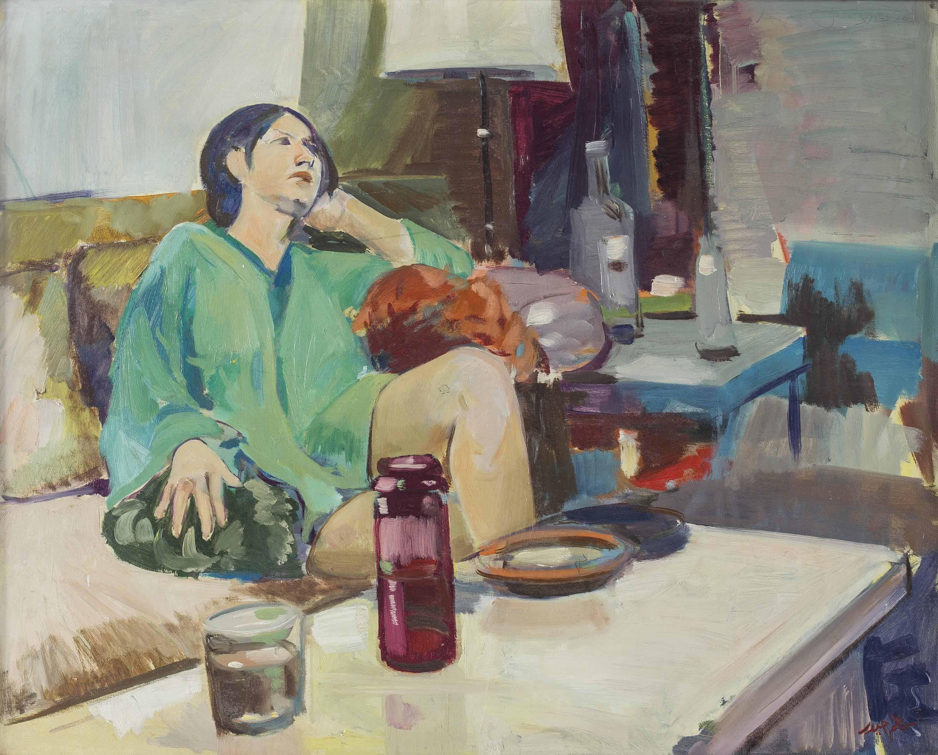Untitled (Portrait of Ms Attiyah)