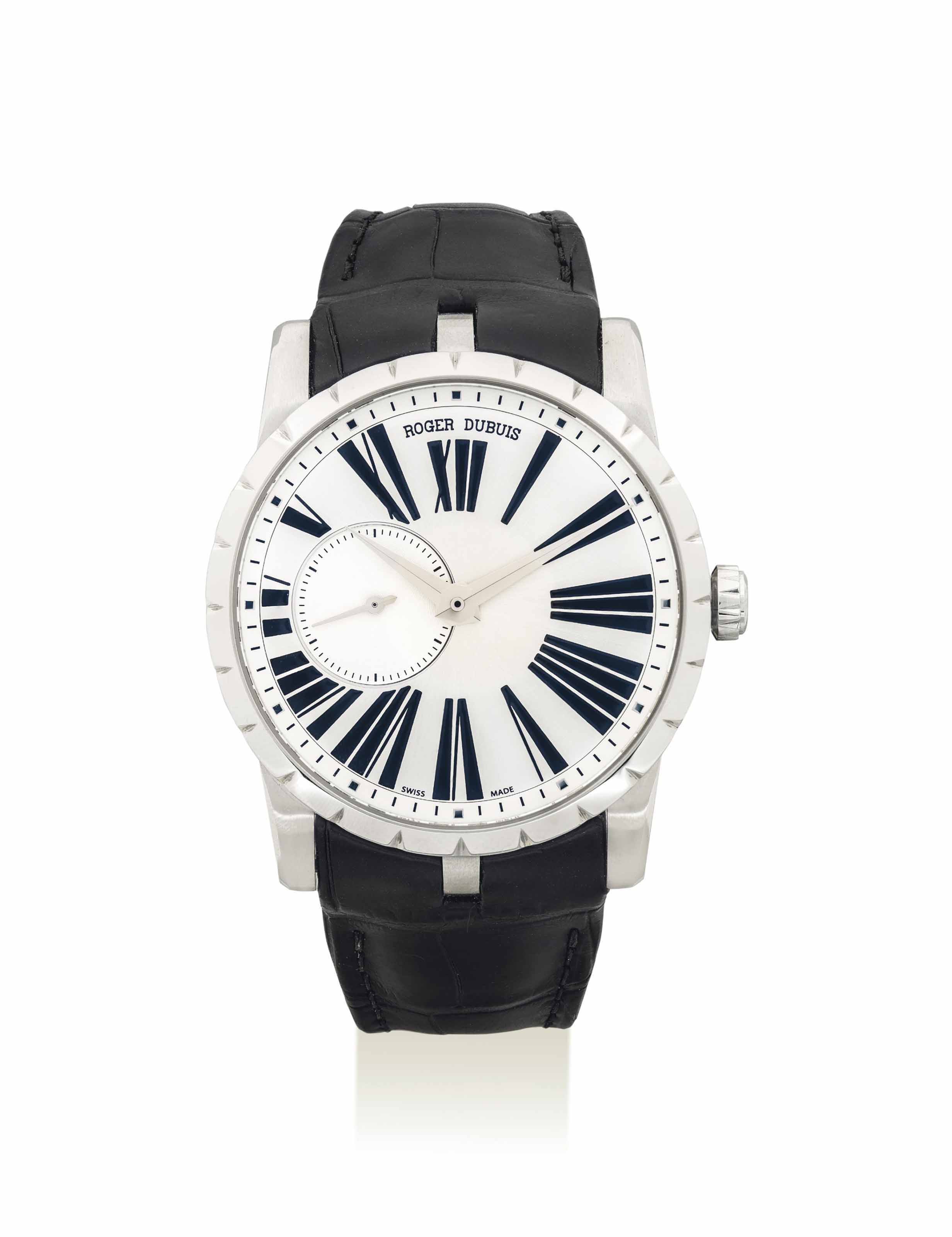 ROGER DUBUIS. A FINE STAINLESS