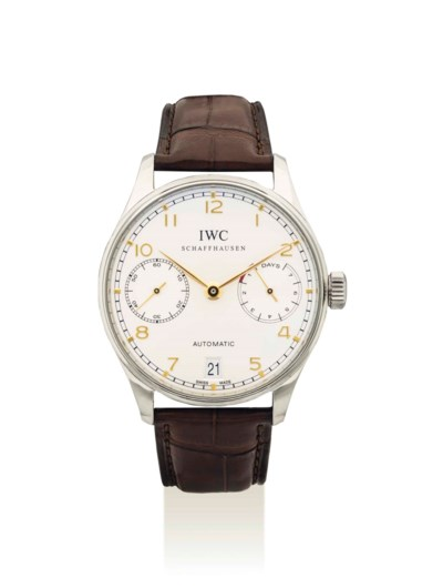 IWC. A FINE STAINLESS STEEL AU