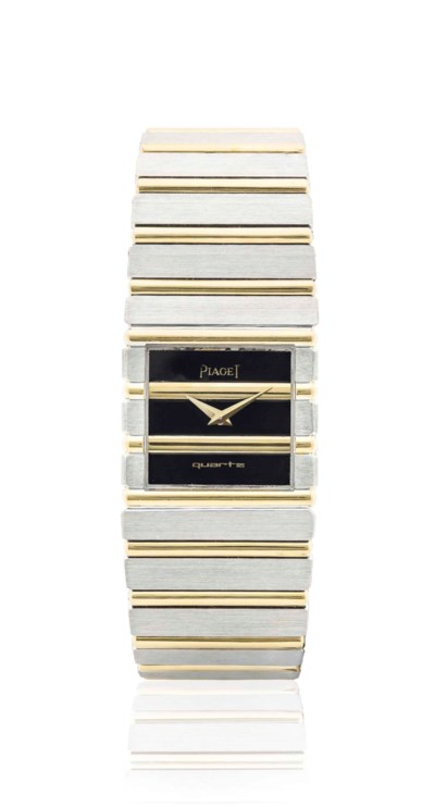 PIAGET. AN 18K GOLD AND WHITE