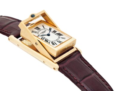 CARTIER. A FINE 18K GOLD LIMIT