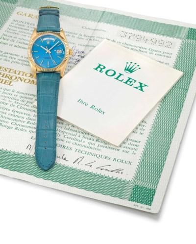 Rolex. A very fine, rare and a