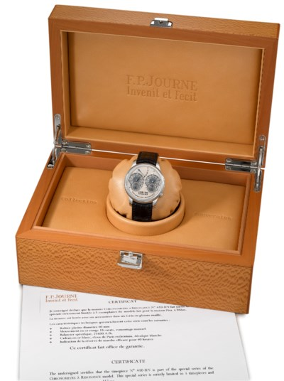 F.P. Journe. A extremely rare