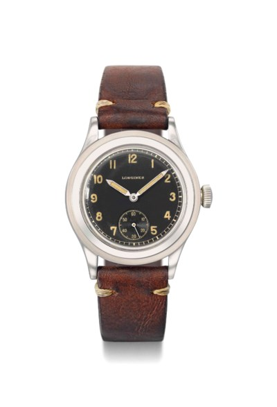 Longines. A fine and rare wate