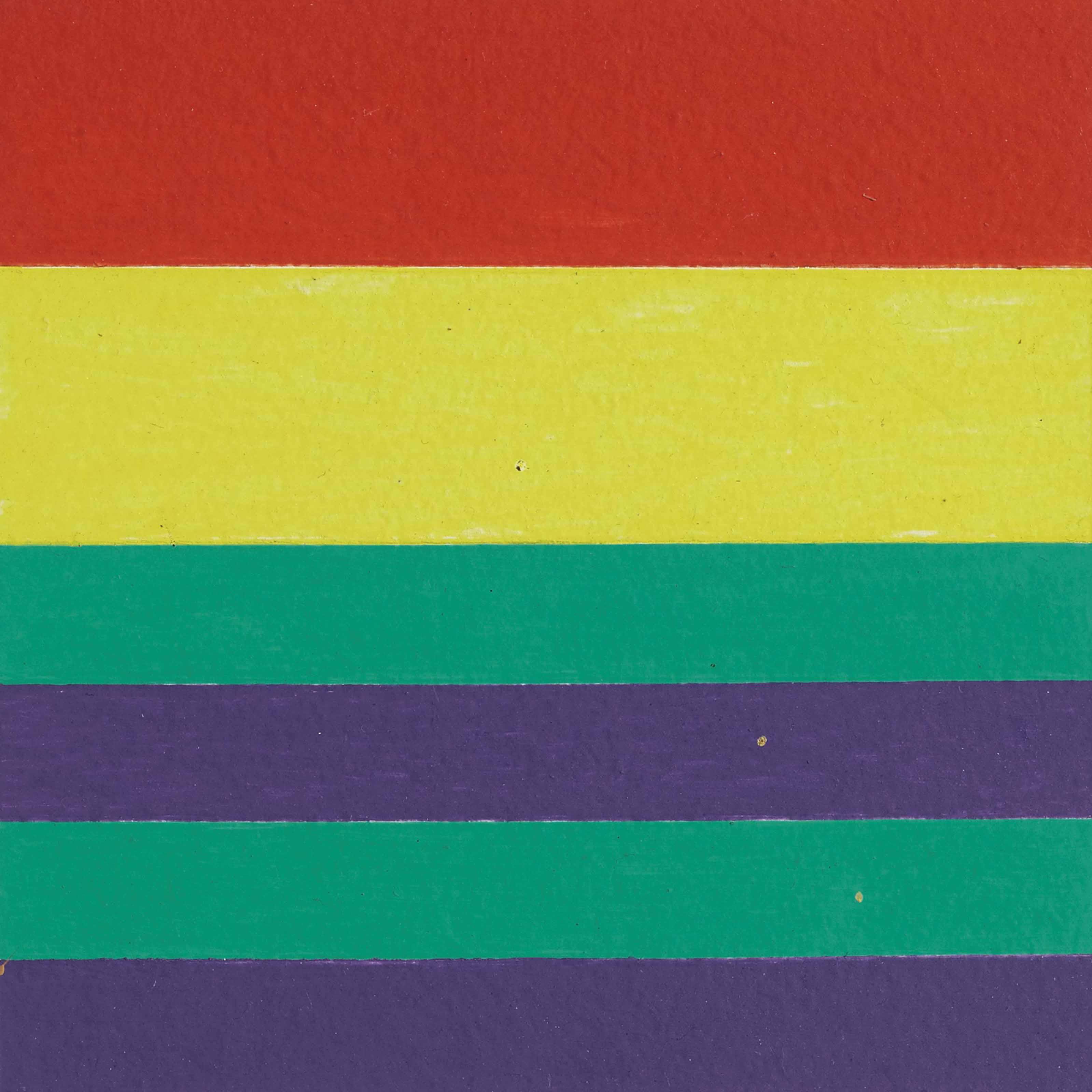 2 Farbpaare gleichen Volumens, 1968