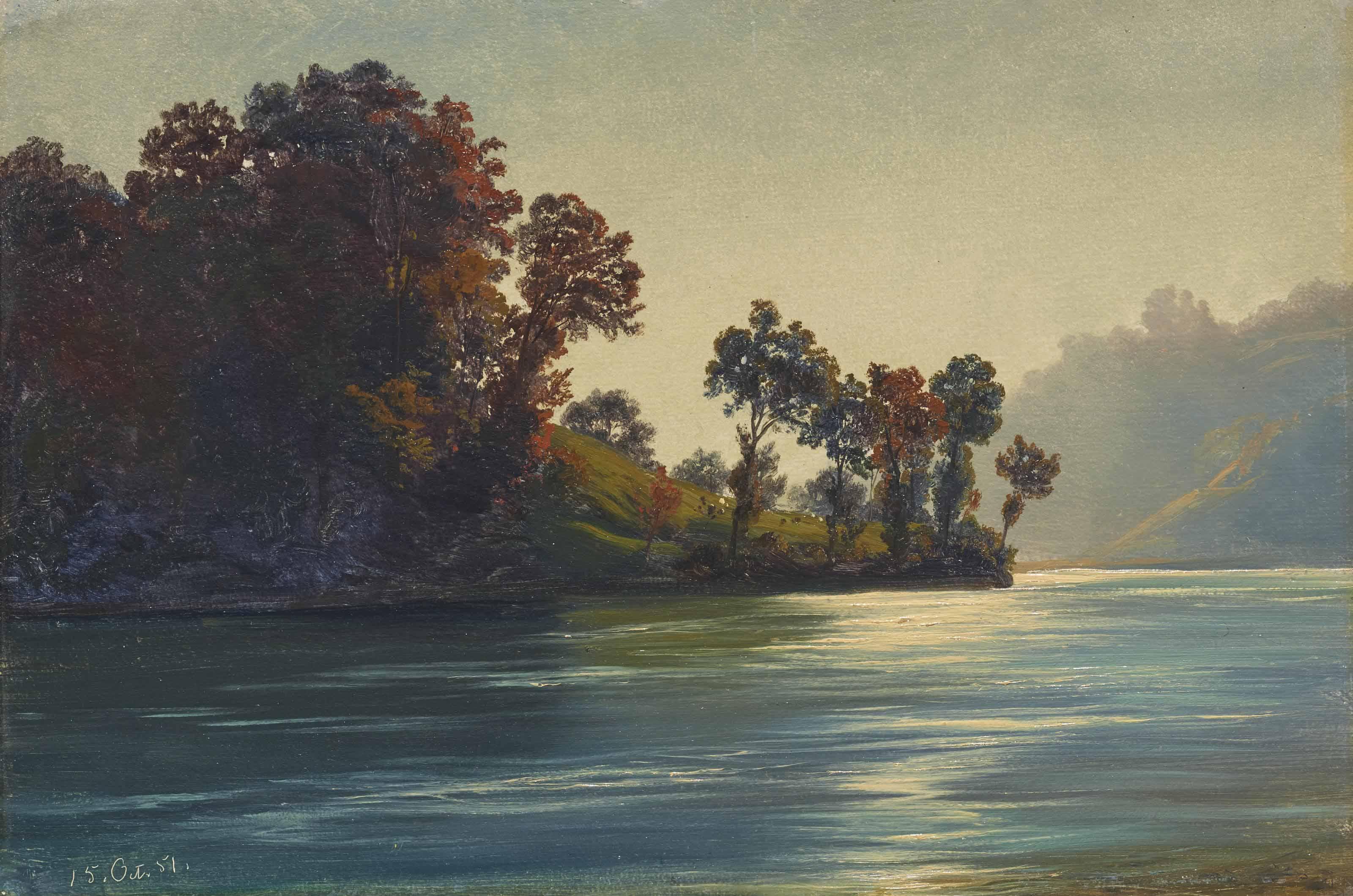 Seelandschaft, 1851