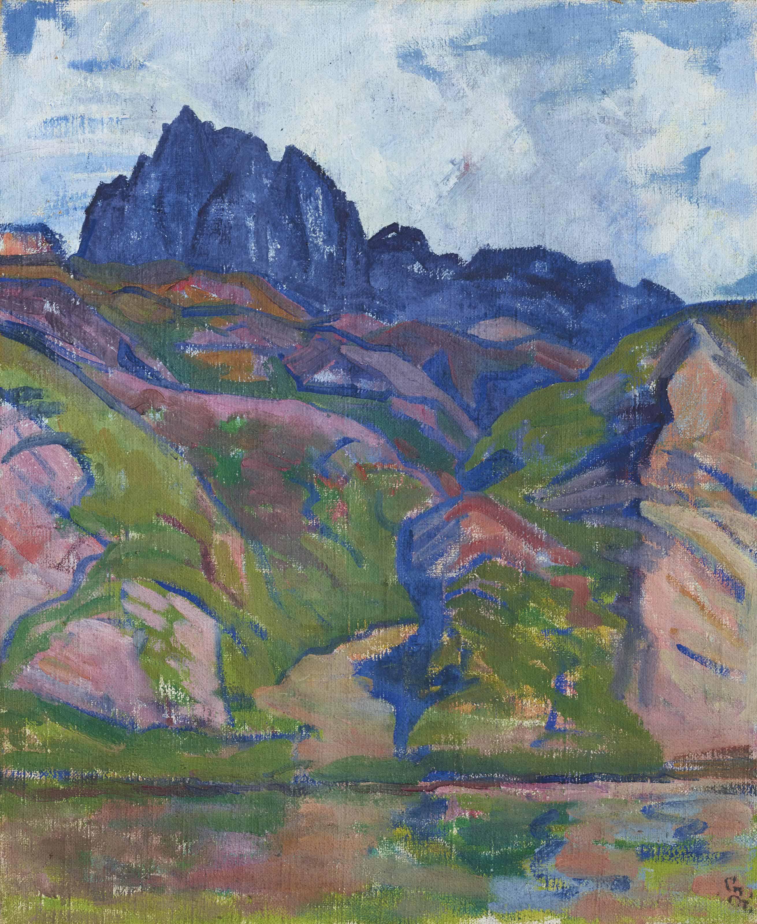 Piz Lagrev, um 1918