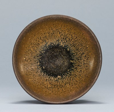 A SMALL JIAN 'HARE'S FUR' BOWL