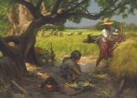 Rice Harvesting
