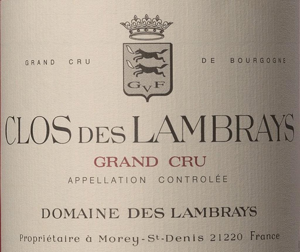 Domaine des Lambrays Clos des Lambrays 2002