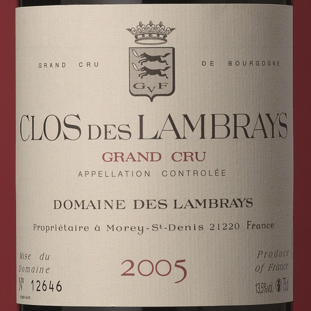 Domaine des Lambrays Clos des Lambrays 2005