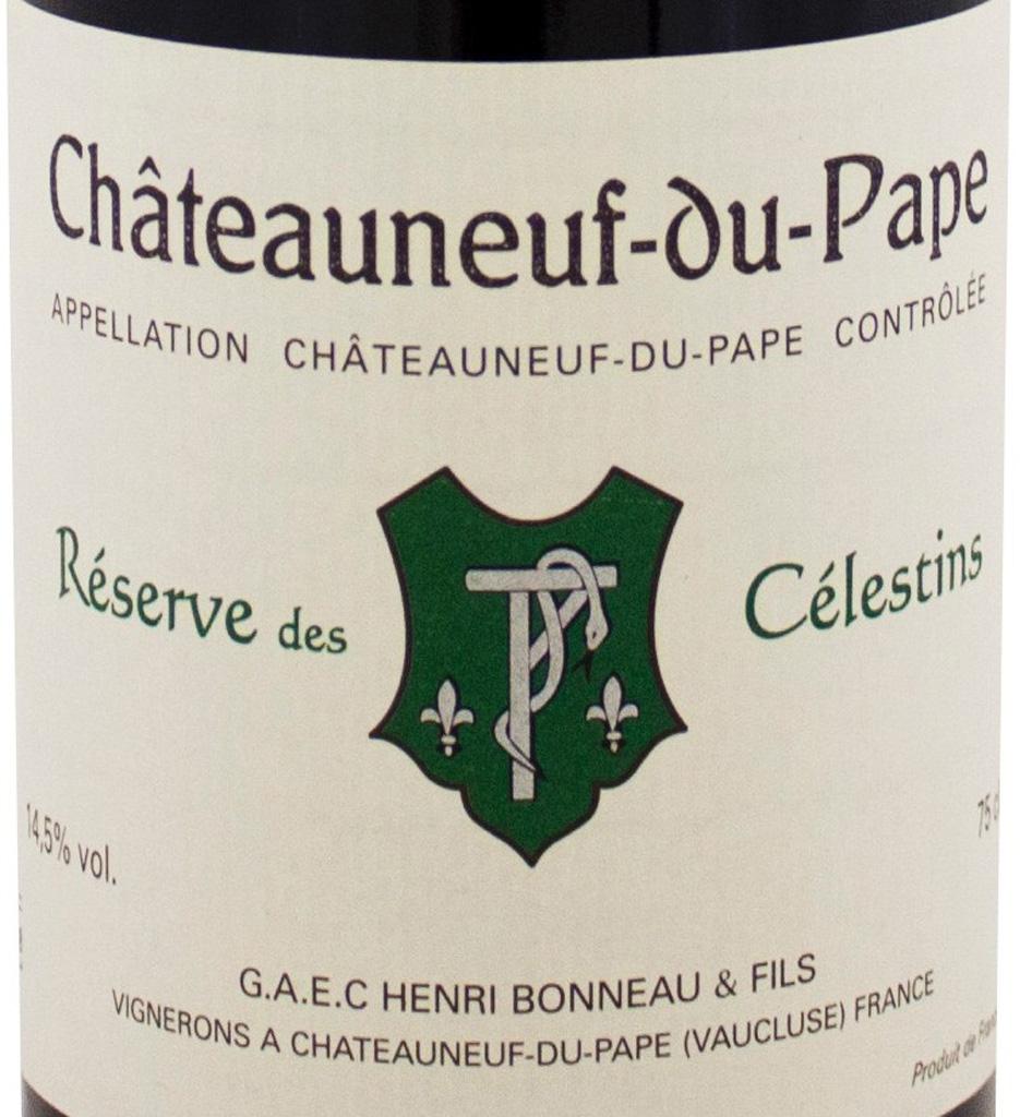 Henri Bonneau, Châteauneuf-du-Pape Reserve des Celestins 1995