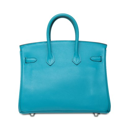 A TURQUOISE SWIFT LEATHER BIRK