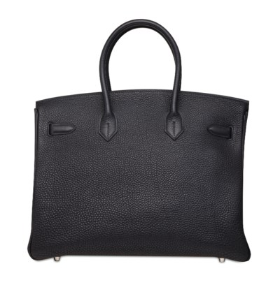 A BLACK TOGO LEATHER BIRKIN 35