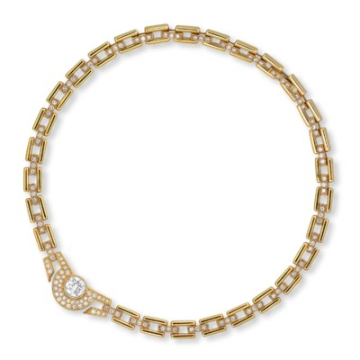 A DIAMOND NECKLACE, BY BULGARI