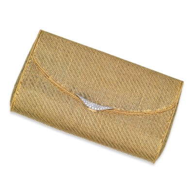 A DIAMOND AND GOLD BAG, BY VAN