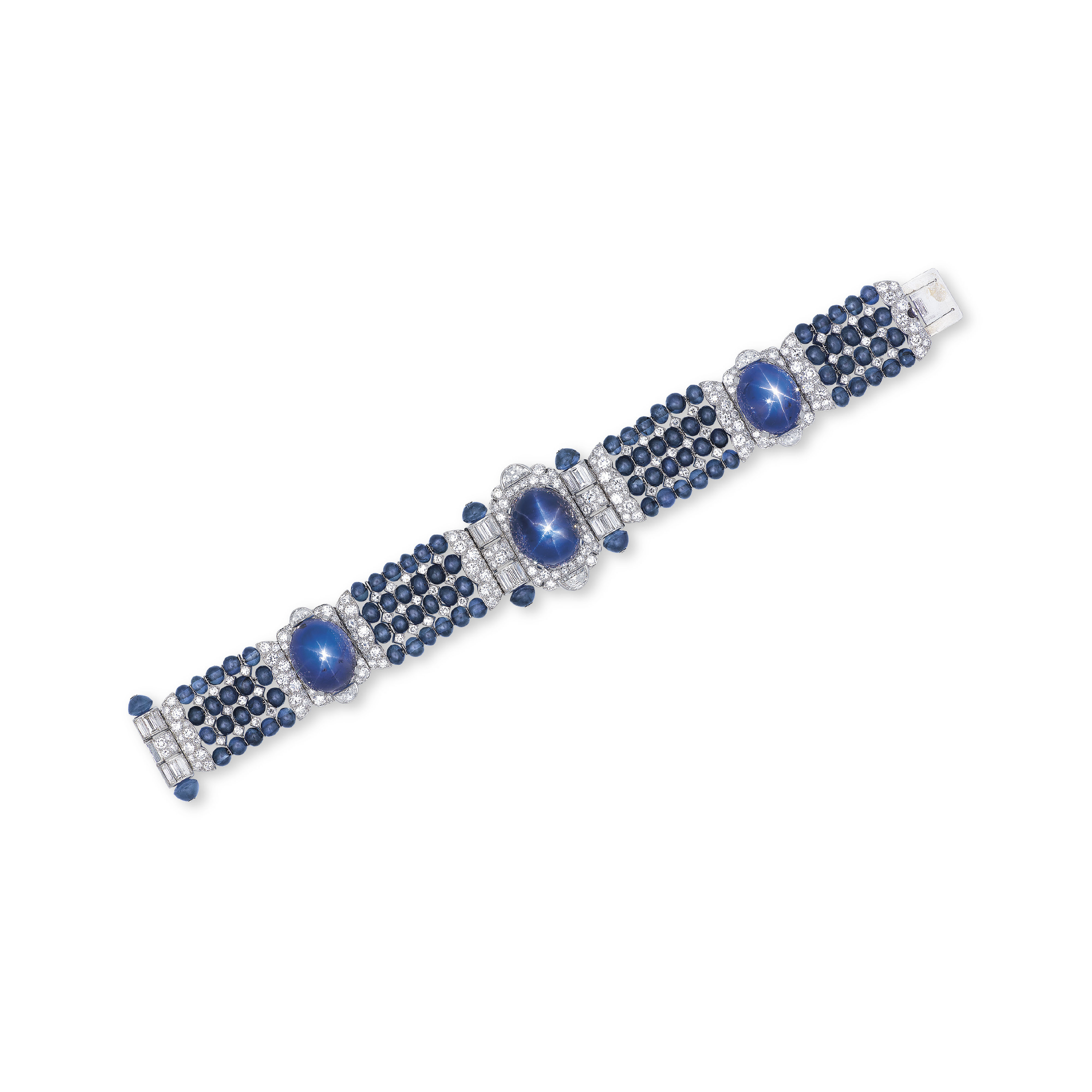 A STAR SAPPHIRE, SAPPHIRE AND