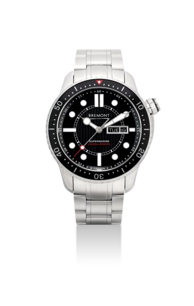 BREMONT. A STAINLESS STEEL AUT