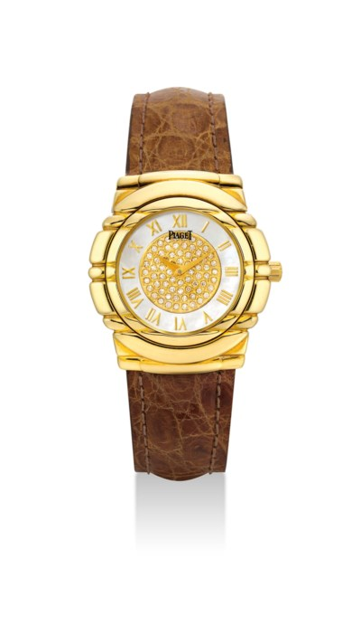 PIAGET. AN 18K GOLD AND DIAMON