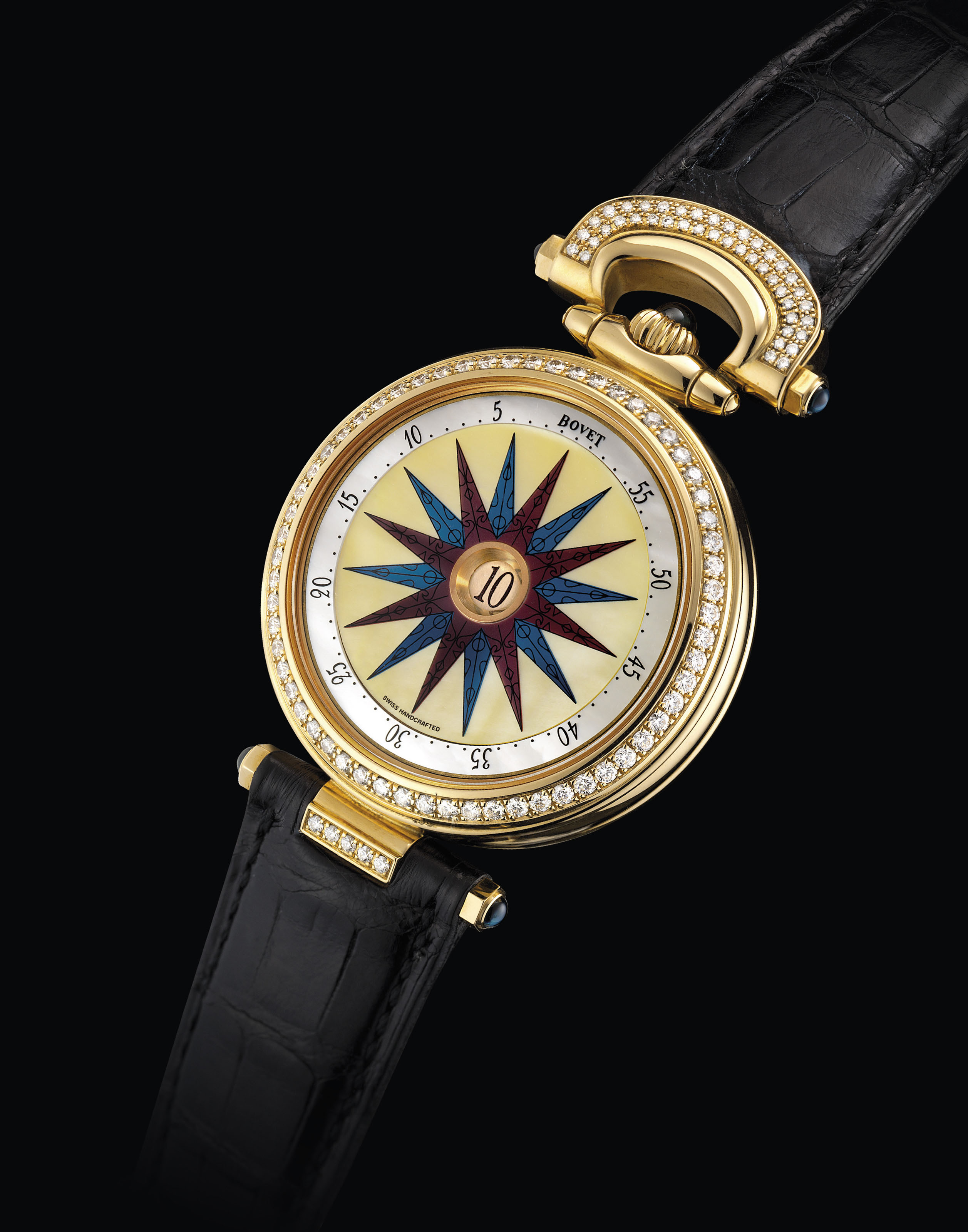 BOVET. A FINE AND UNUSUAL 18K