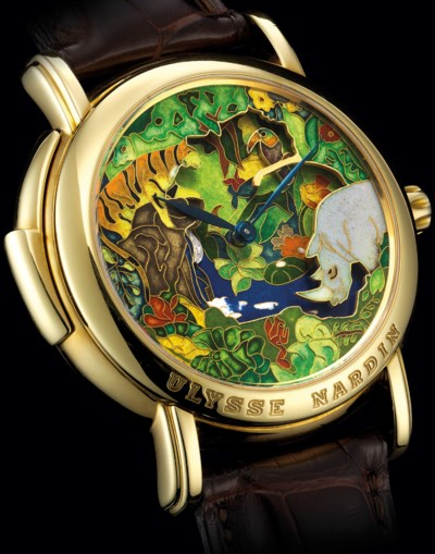 ULYSSE NARDIN. A VERY FINE AND