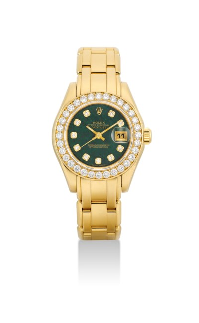 ROLEX. A LADY'S VERY FINE AND