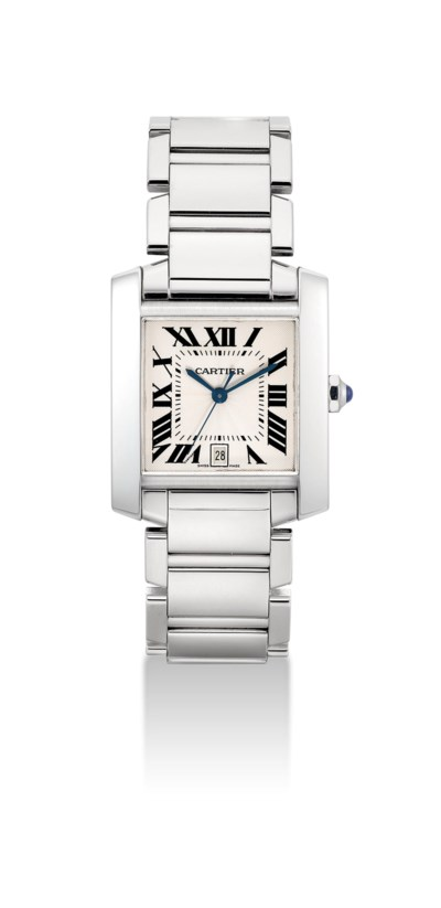 CARTIER. A FINE 18K WHITE GOLD