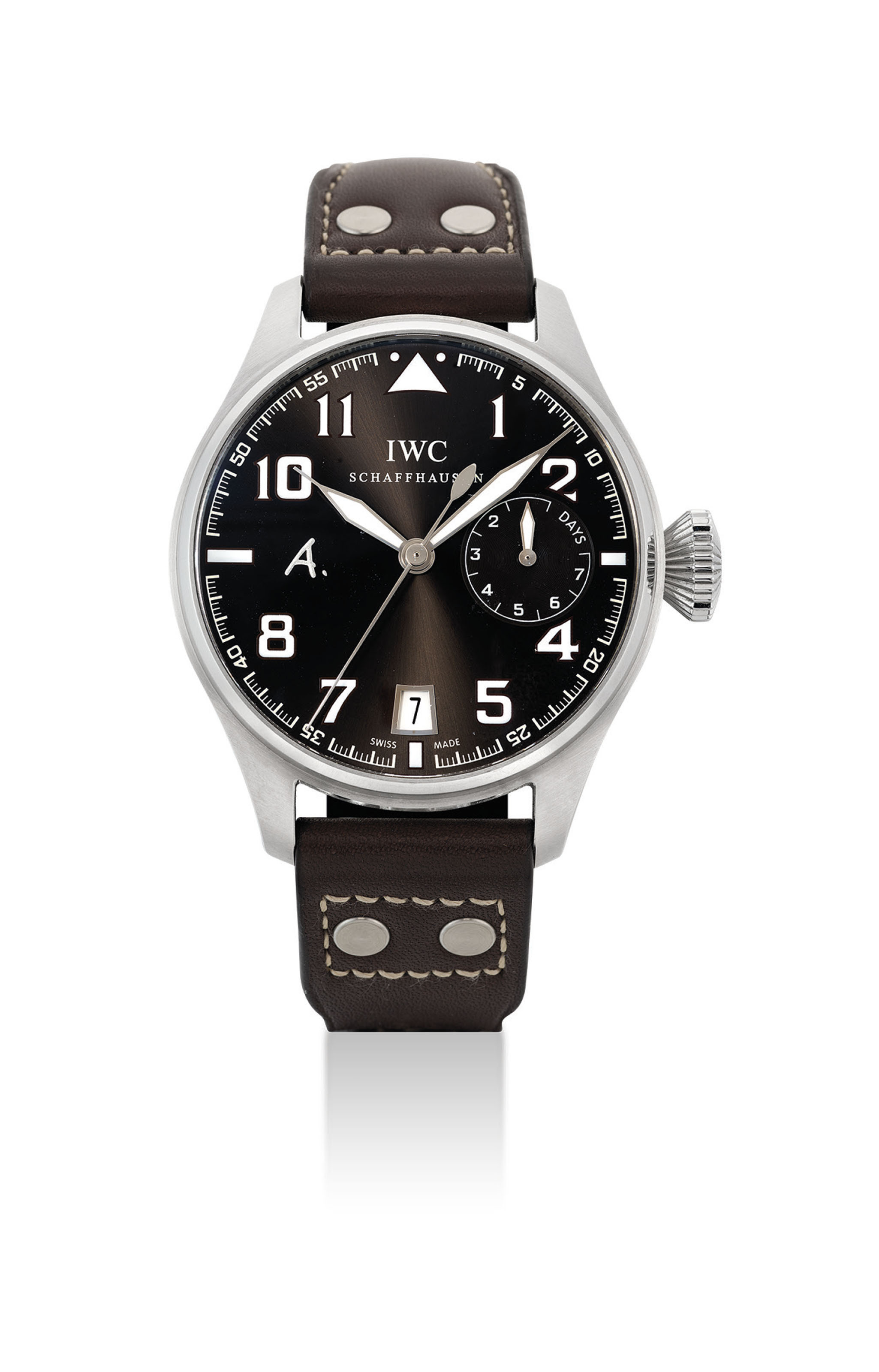 IWC. A STAINLESS STEEL LIMITED