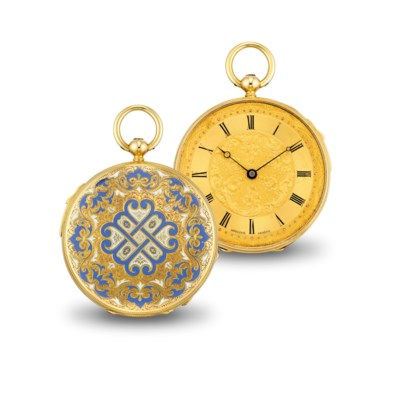 MOULINIE. A FINE 18K GOLD AND