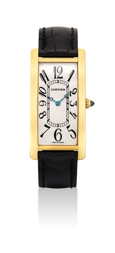 CARTIER. AN 18K GOLD LIMITED E