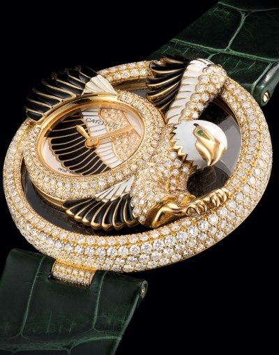 CARTIER. A LADY'S FINE AND VER