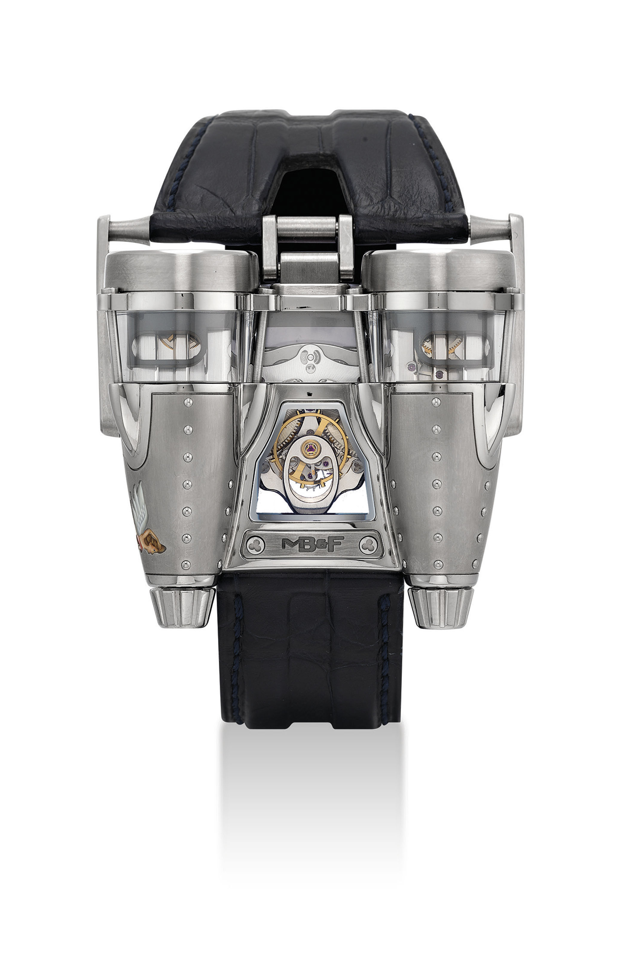 MB&F. A VERY FINE AND EXTREMELY RARE TITANIUM LIMITED EDITION AVIATION-INSPIRED WRISTWATCH