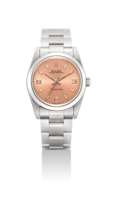 ROLEX. A STAINLESS STEEL MID-S