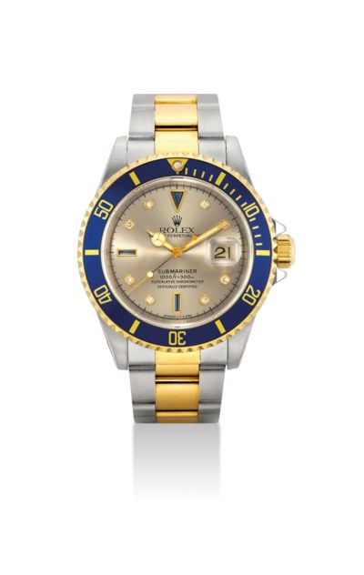 ROLEX. A FINE STAINLESS STEEL,