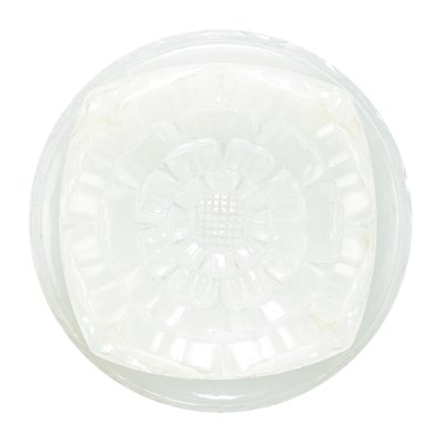 A FINELY CARVED MUGHAL WHITE J