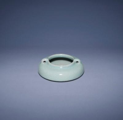 A SMALL RU-TYPE WATERPOT