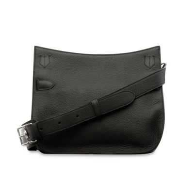 A BLACK CLÉMENCE LEATHER JYPSI
