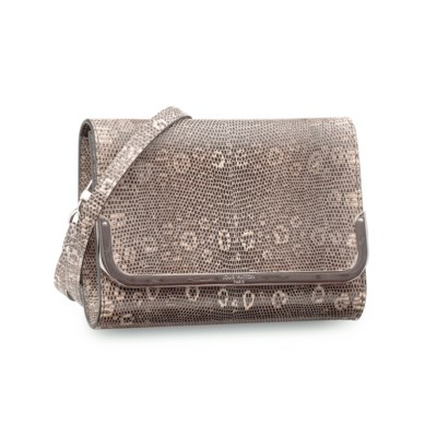 A RING LIZARD CLUTCH WITH SHOU