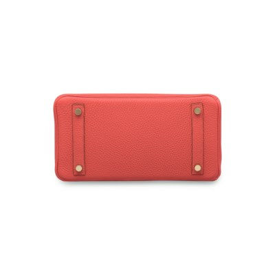A ROUGE PIVOINE TOGO LEATHER B